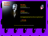 Screenshot of a home page from the archive